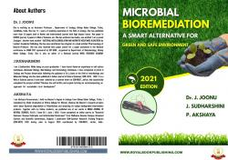 Cover for MICROBIAL BIOREMEDIATION- A SMART ALTERNATIVE FOR GREEN AND SAFE ENVIRONMENT