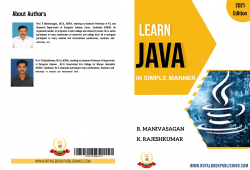 Cover for LEARN JAVA IN SIMPLE MANNER