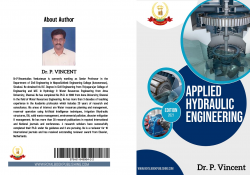 Cover for A Text Book of Applied Hydraulic Engineering