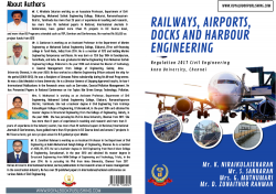 Cover for RAILWAYS, AIRPORTS, DOCKS AND HARBOUR ENGINEERING