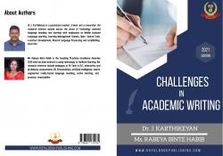 Cover for A Study on problems faced by the academicians in English while writing an academic paper