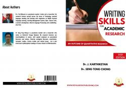 Cover for Challenges faced by research scholar in writing research paper in English