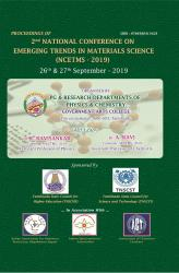 Cover for 2nd NATIONAL CONFERENCE ON EMERGING TRENDS IN MATERIALS SCIENCE