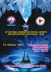 Cover for 24th National Seminar on Crystal Growth and Applications