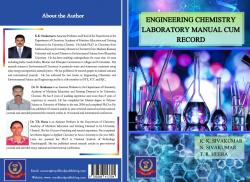 Cover for ENGINEERING CHEMISTRY LABORATORY MANUAL CUM RECORD