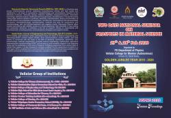 Cover for TWO DAYS NATIONAL SEMINAR ON PROSPECTS IN MATERIAL SCIENCE